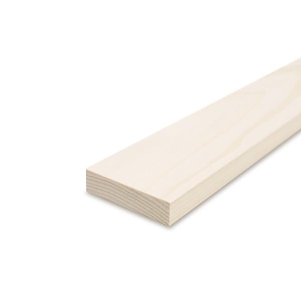 Glattkantbrett - Kiefer/Fichte gehobelt - 19 mm x 90 mm x 600mm