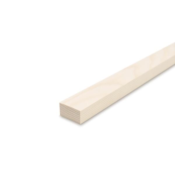 Glattkantbrett - Kiefer/Fichte gehobelt - 19 mm x 40 mm x 600mm