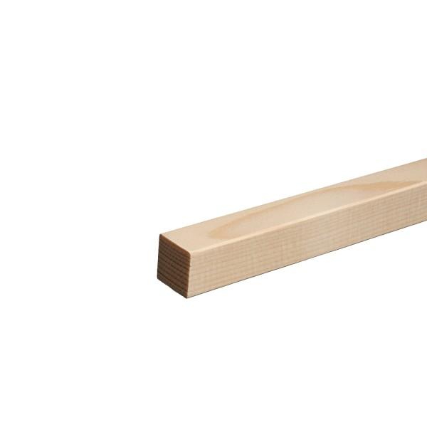 Quadratleiste Vierkantleiste Bastelleiste Abdeckleiste Fichte ROH + Massiv 20mm