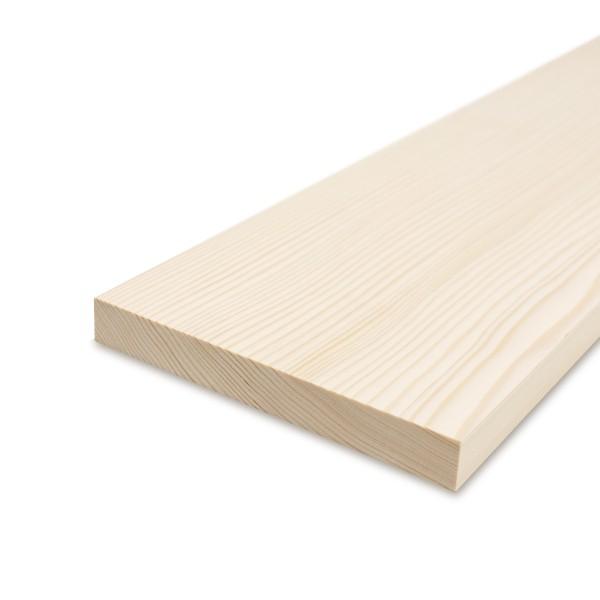 Glattkantbrett - Kiefer/Fichte gehobelt - 19 mm x 180 mm x 600mm
